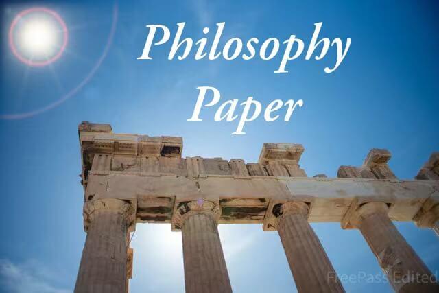 专业代写教你如何写作一篇合格甚至优秀的哲学论文(Philosophy Essay)