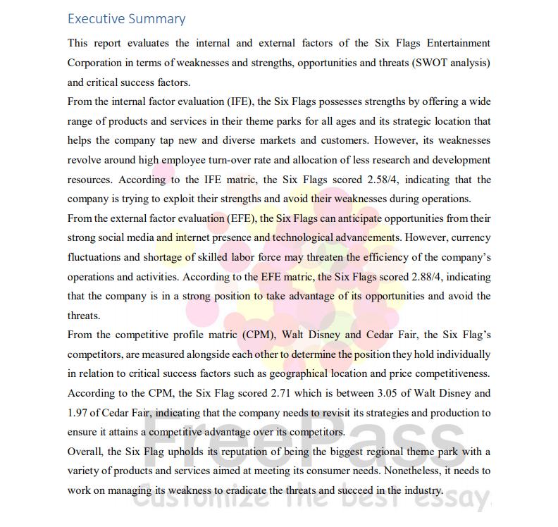 essay sample P1